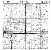 Genoa Township, New Lebanon, DeKalb County 1947